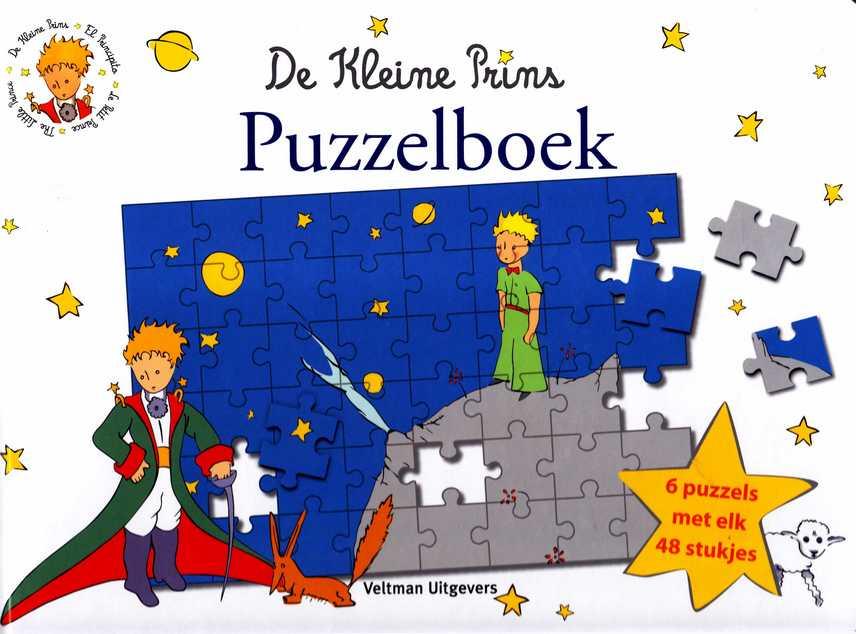 De Kleine Prins Puzzelboek Melanie Rhauderwiek Tekst En