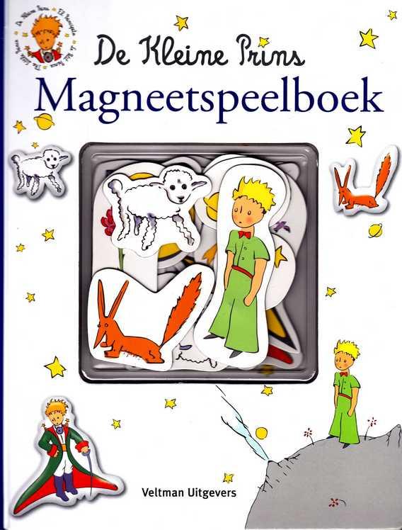 De Kleine Prins Magneetspeelboek Melanie Rhauderwiek